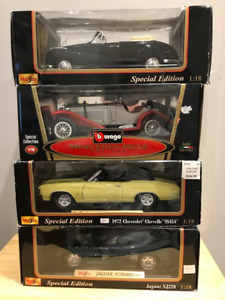 1/18 Diecast Maisto and Burago Models (no Autoart/Minichamps)