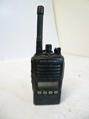 Vertex Standard Vx-354-ag8b-5 Uhf 16-channel Portable 2-way Radio