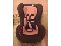 Comfort plus car seat used a couple of times like new