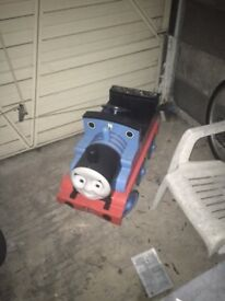 Thomas the Tank Engine - Pedal Train. Original & full size. Collectable. £100!