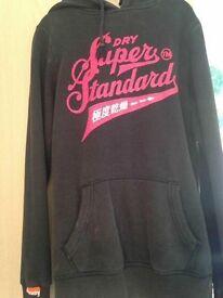 Ladies superdry hoodie size 8