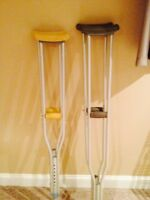 Set of Crutches