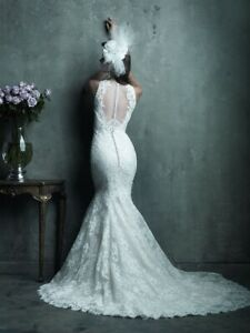 ONE OF A KIND Couture Lace Wedding Dress