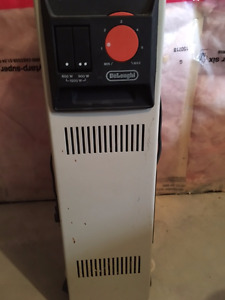 Delonghi oiled filled Radiant heaters