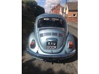 VW beetle - 1972 61k miles in light blue