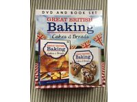 Great British Baking, Cakes & Bread DVD and Book Set