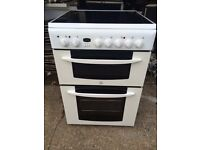 £129.32 Indesit ceramic electric cooker+60cm+3 months warranty for £129.32