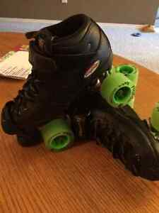 Riedell R3 Derby Skates/Gear - Used but in Excellent Condition