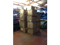 Strong Cardboard Cartons / Boxes For Sale (Used) Various Sizes