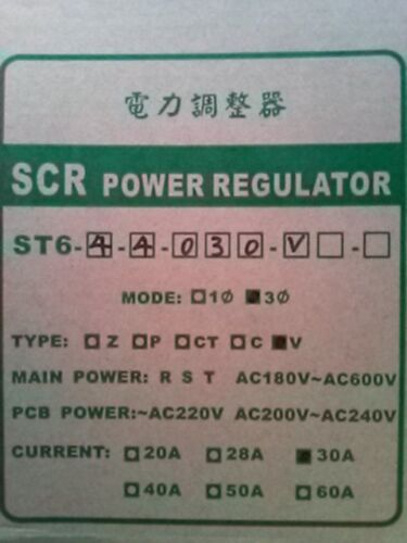 1pc New Taisee Power Regulator St6.scr St6-4-4-030v