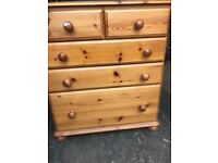 Pine chest free local delivery