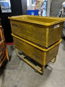 Heavy Duty Rolling Warehouse Bin - $130