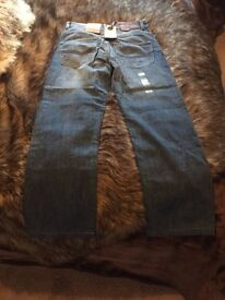 BRAND NEW WITH TAGS DUFFER JEANS SIZE 30/32 BARGAIN PRICE