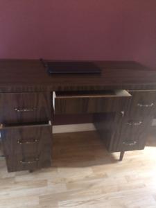desk, bureau, furniture