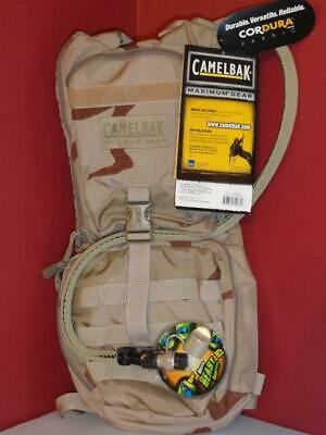 CAMELBAK AMBUSH Camo Desert 3L 100oz Maximum Gear HYDRATION PACK DCU  NEW! ()