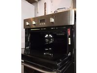 Hotpoint DHS53XS Double Electric Oven, Stainless Steel