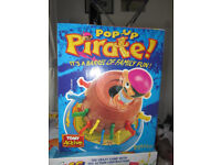 Pop Up Pirate - family game