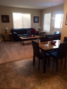 Regina- 2 bedroom furnished condo for rent monthly-avail now