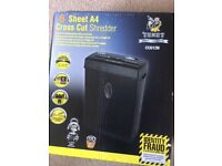 Texet cross cut paper shredder