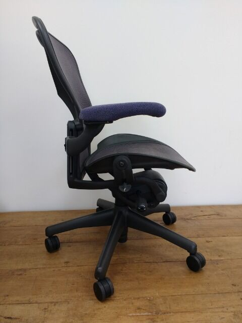 Herman Miller Aeron Office Chair Size B In Amethyst Price Includes