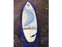 7'4 TUNNEL VISSION SURF BOARD