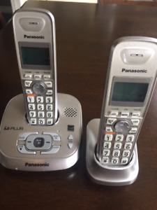 Panasonic DECT 6.0 Plus Cordless Phone w/ Answering Machine