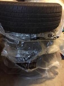 Set of Used Continental CrossContact 225/65/R17 Tires
