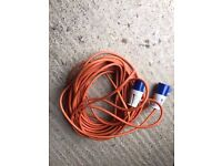 Mains Electrical hook up lead