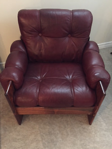 Wood & Leather chair