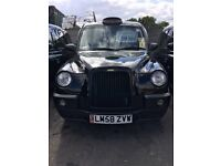 LONDON TAXI TX4, PCO PLATED FOR LONDON