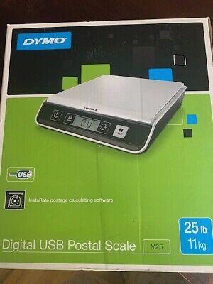 Dymo M25 Digital Usb Postal Scale 25 Lb Capacity New