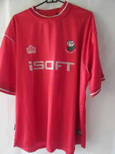 Barnsley-2000-2002-No-6-Home-Football-Shirt-Size-Large-10194-preseason-mallot