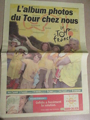 VELO : TOUR DE FRANCE : L'ALBUM PHOTOS DU TOUR CHEZ NOUS  - 8/07/2004 -