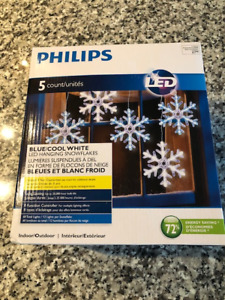 LED Hanging Snow flakes (New)