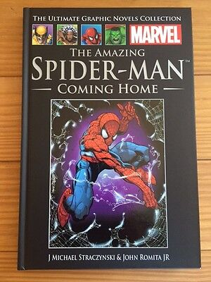Spider Man Coming Home Marvel Book Graphic Novel Colleciton 1 vol 21 Collectoble