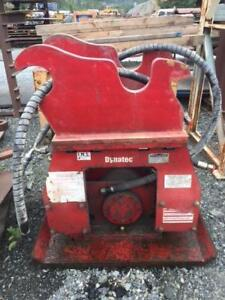 DYNATEC Hoepack Plate Tamper Excavator Attachment