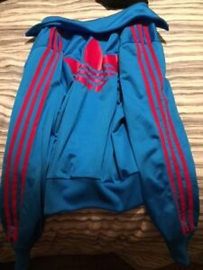 Adidas Tracksuit sweater - blue and pink