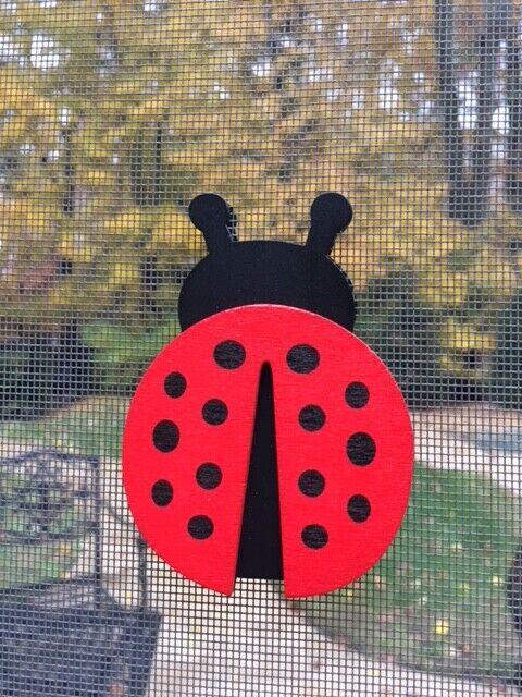 ladybug screen door saver magnets no more