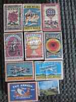 18 Vintage Match Boxes  $3 each or $48 for all