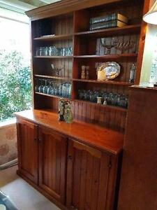 Timber Sideboard Buffet with Shelving West Pennant Hills The Hills District Preview