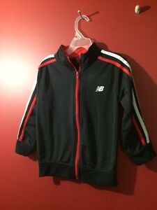 New Balance Boy's Size 5T Track Jacket - Great condition!