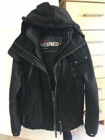Black Superdry Jacket