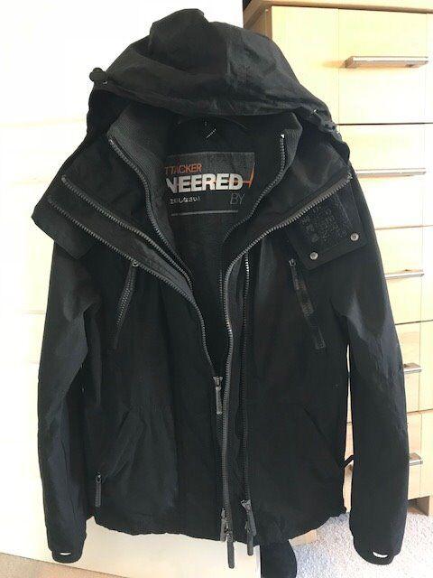 Black Superdry Jacket