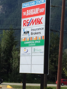 Sicamous commercial space available 864 sq. ft. - $850.00/month