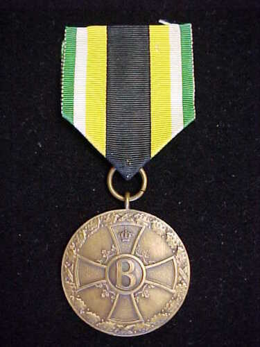 SAXE-MEININGEN WAR MERIT MEDAL IN BRONZE ~ EXCELLENT