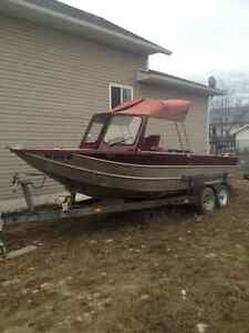 21ft Thunder jet river/lake boat