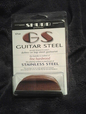 Shubb GS-1 Resophonic Steel Bar Slide new unopened stainless steel