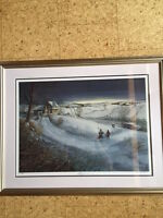 Sports Memorabilia Hockey - Limited Edition Framed Print