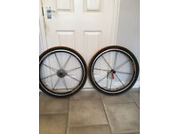 Brand New 16 Spoke Shimano Wheels with Continental Tyres 26 x 1.9