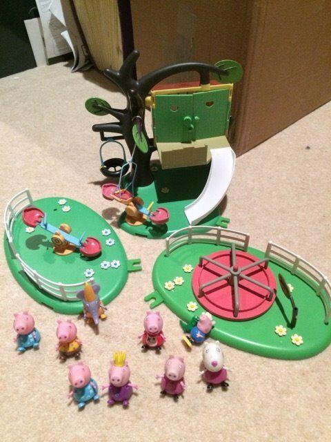 peppa pig playground bundle